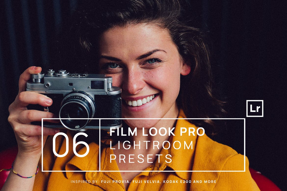 6 Film Look Pro Lightroom Presets
