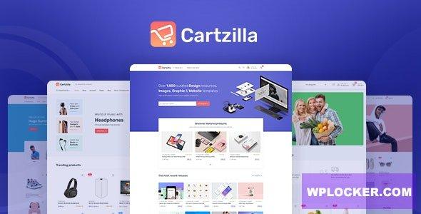 Cartzilla v1.0.2 - WordPress digital goods store template