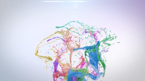 Colorful Liquid Logo Reveal