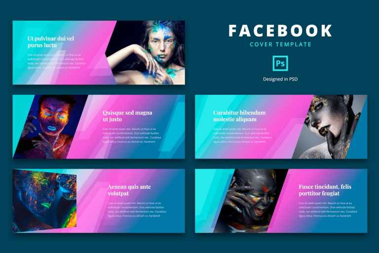Facebook Cover Template Esport Game