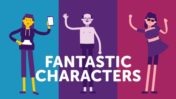 Fantastic Characters - for explainer animations