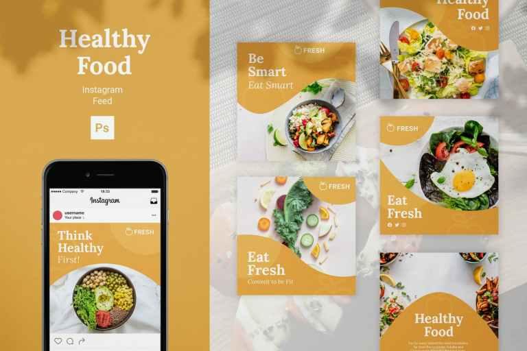 Healthy Food Instagram Feed