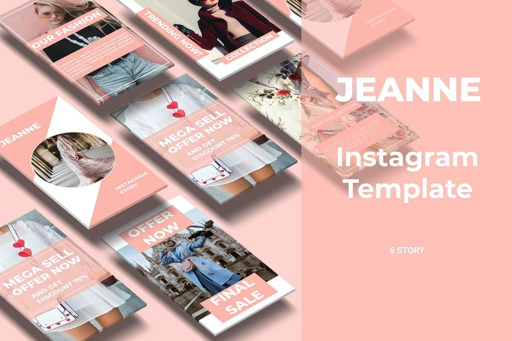 Jeanne - Fashion Social Media Story Part 3