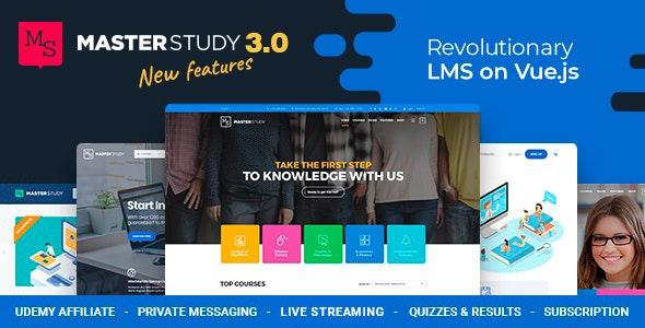 Masterstudy v3.0.11 NULLED - Education WordPress Theme