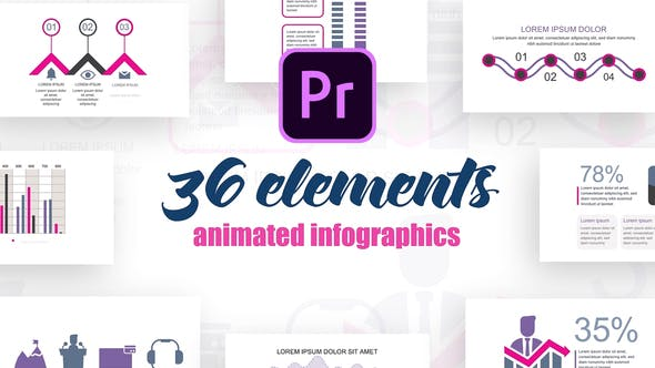 Medical Infographics Vol.28 for Premiere Pro
