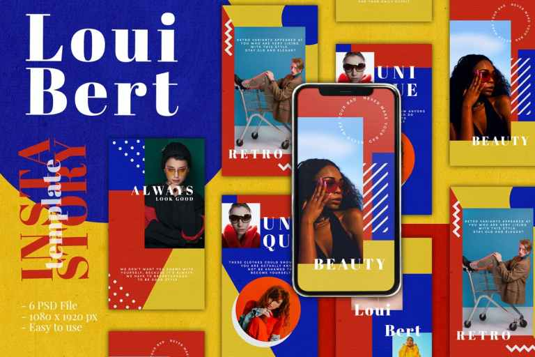 Modern Colorful Instagram Story Template