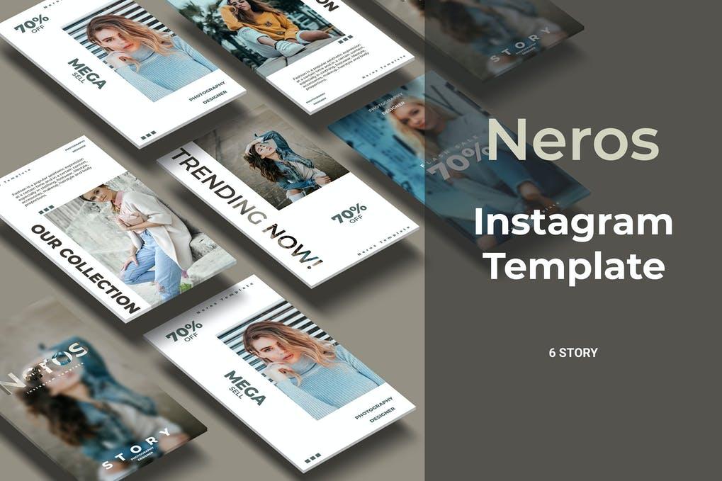 Neros - Fashion Social Media Story Part 5