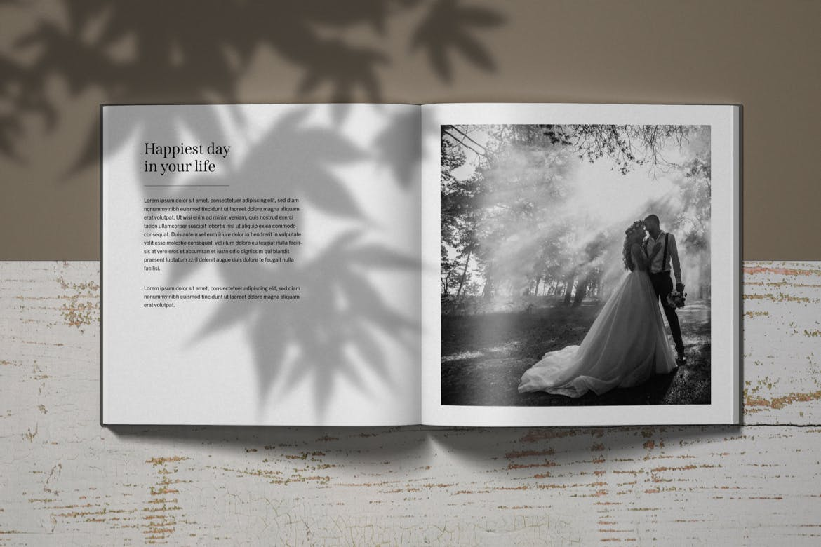 Open Catalogue and Magazine Page Mockup