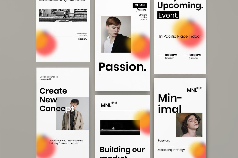 Passion - Insta Story & Post Social Media Vol.1