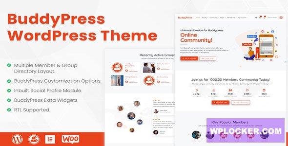 Reign v3.6.0 - BuddyPress & bbPress WordPress Theme