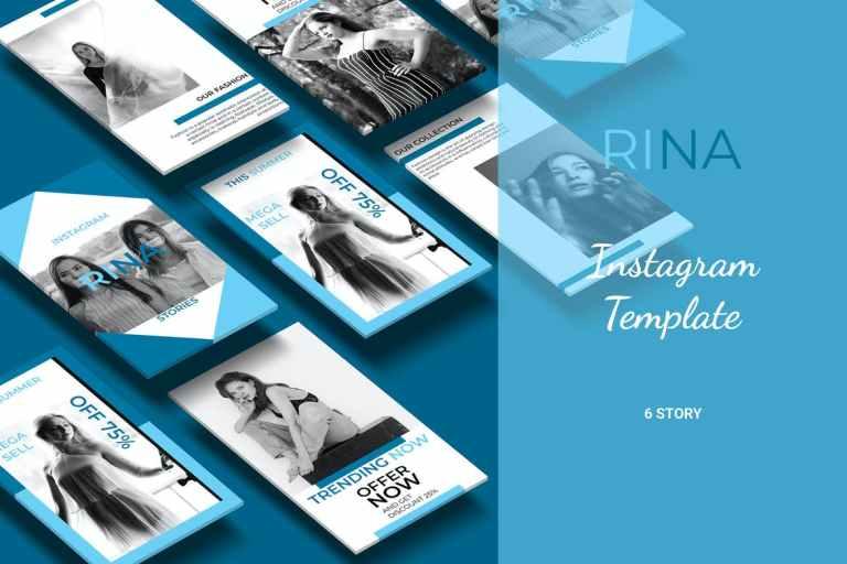 Rina - Fashion Social Media Story Part 1