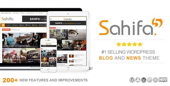 Sahifa v5.7.0 - news - blog WooCommerce template on WordPress