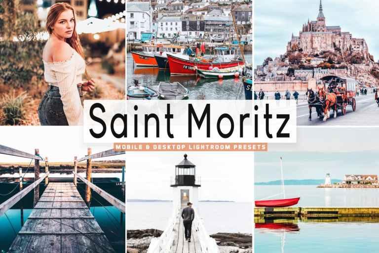Saint Moritz Mobile & Desktop Lightroom Presets