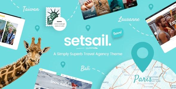 SetSail - Travel WordPress Theme