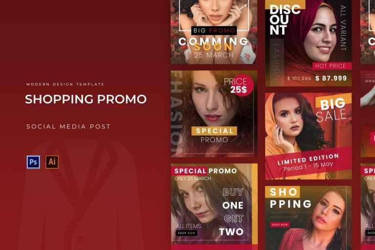 Shopping Promo Instagram Post