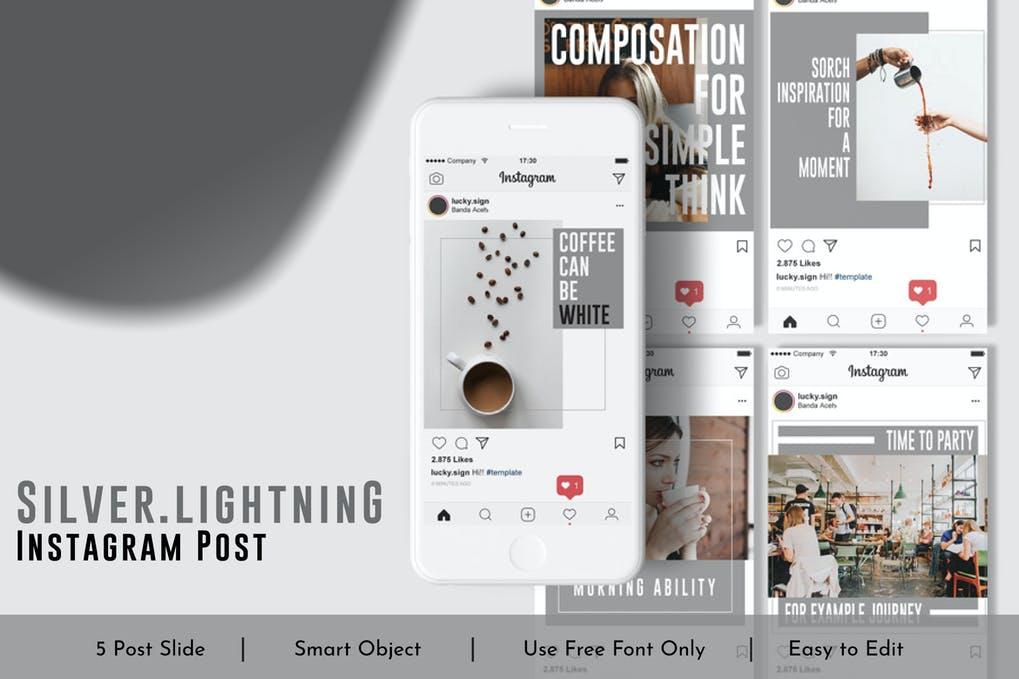 Silver.Lightning Social Media Post Vol.8