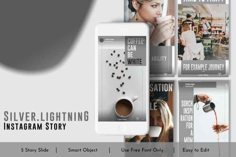 Silver.Lightning Social Media Story Vol.8