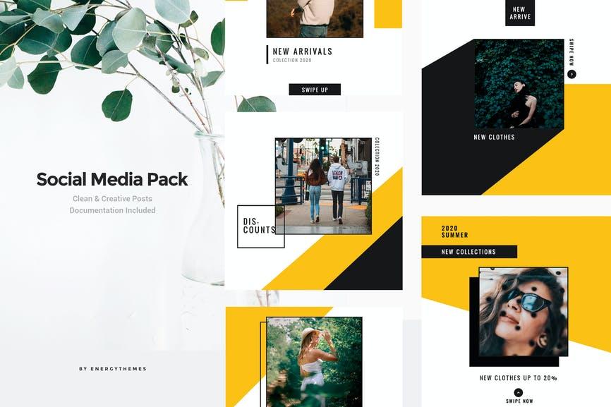 Social Media Banners - Vol108