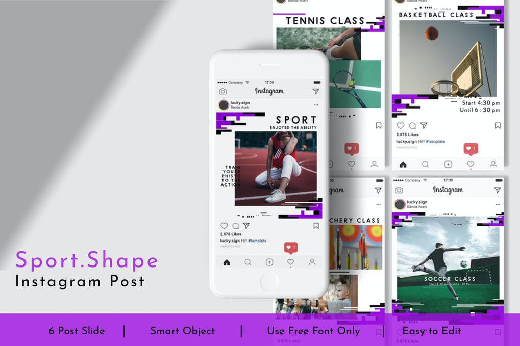 Sport.Shape Social Media Post Vol.10