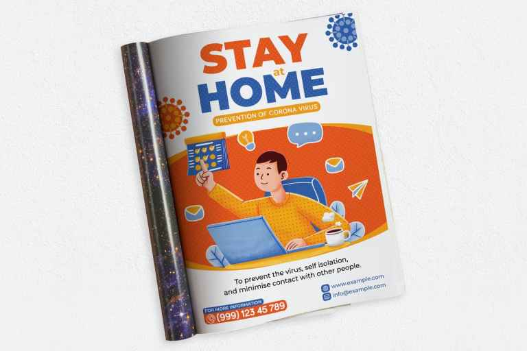 Stay At Home Ads Magazine