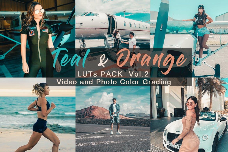 TEAL & ORANGE - LUTs Pack Vol.2