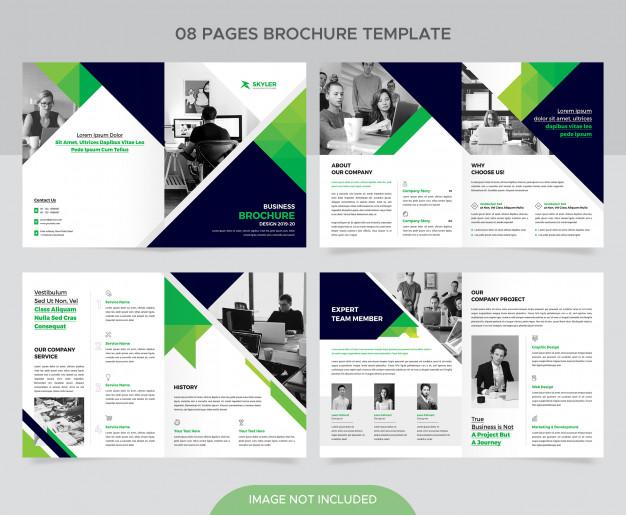 Corporate company brochure template