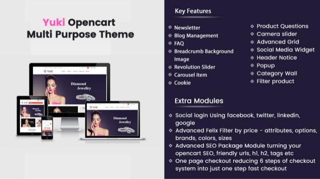 Elomus - Multipurpose OpenCart Template