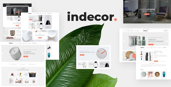 Indecor - clean and minimal theme for OpenCart 3 furniture store