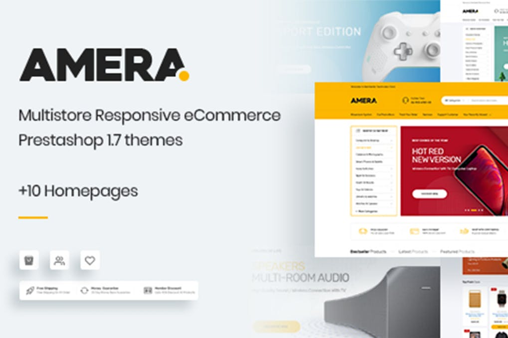 Amera - Responsive Prestashop 1.7 Theme