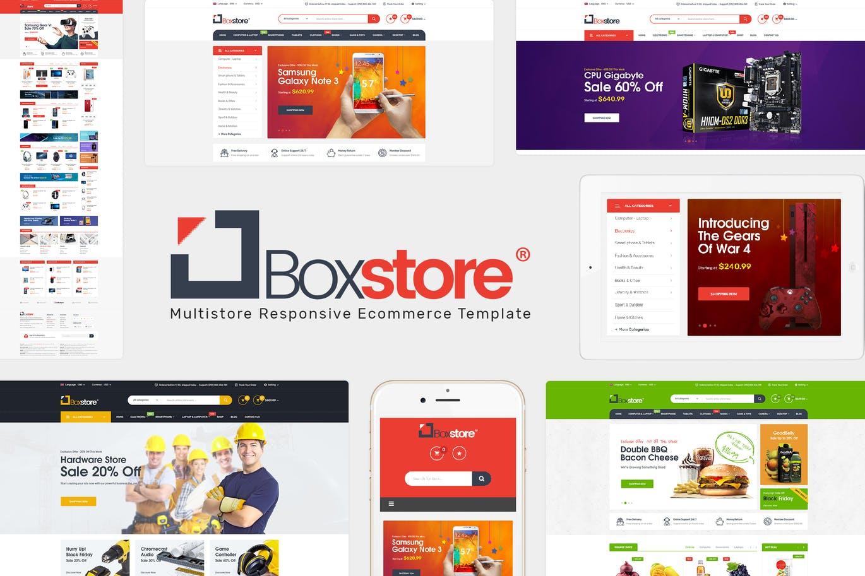 BoxStore - Multipurpose Magento Theme