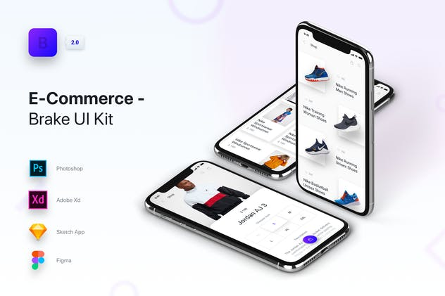 Brake UI Kit 2.0 - E-Commerce Shop Store