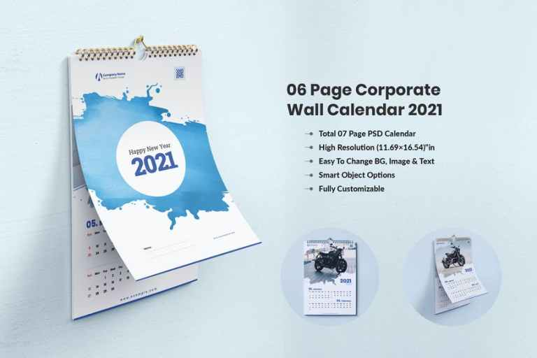 Calendar 2021 - For Corporate & Business Company