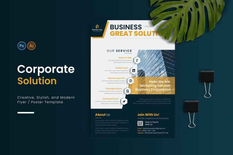 Corporate Solution Flyer