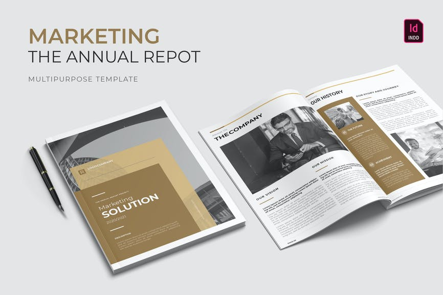 Marketing Solution - Annual Report