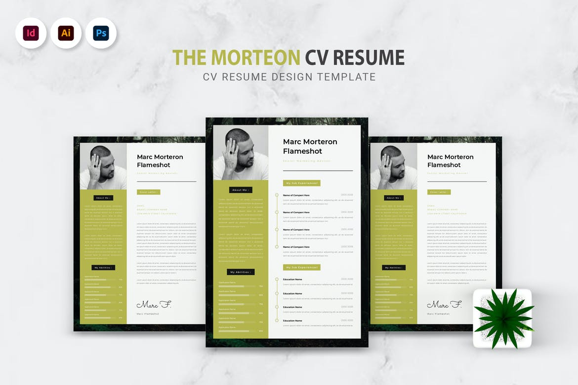 Morteron CV Resume
