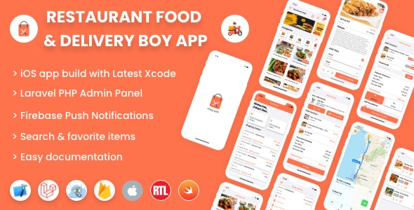 Single restaurant iOS