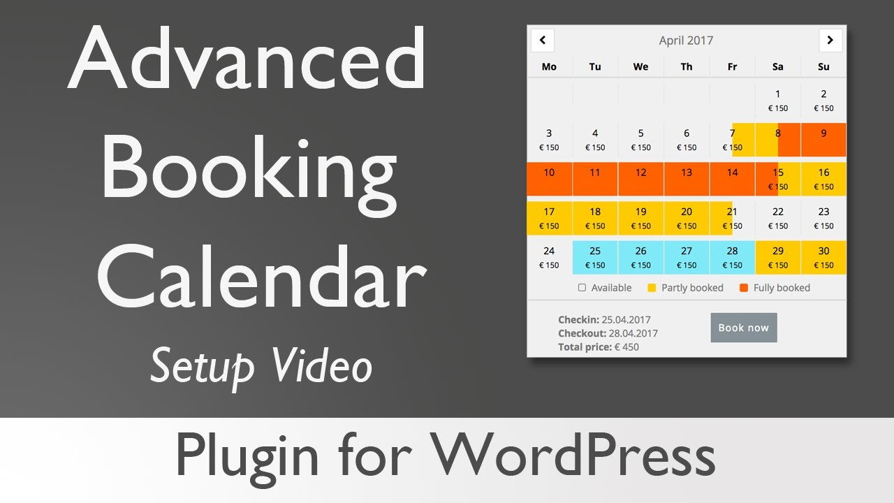 Booking Calendar v3.2 - booking calendar