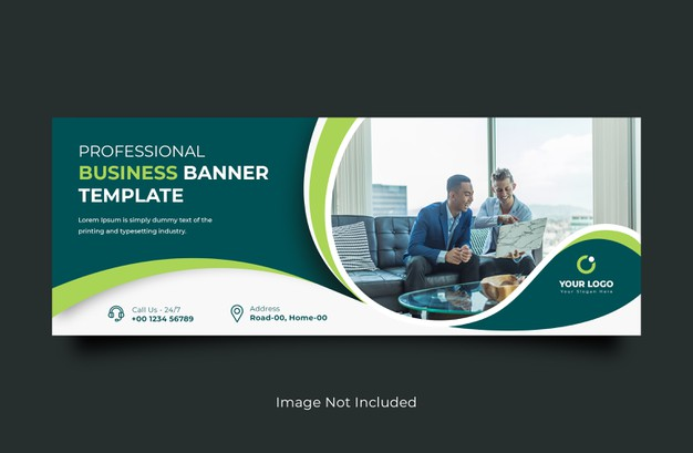 Business facebook cover banner template Premium Psd