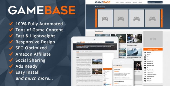 GameBase - Video Games Database