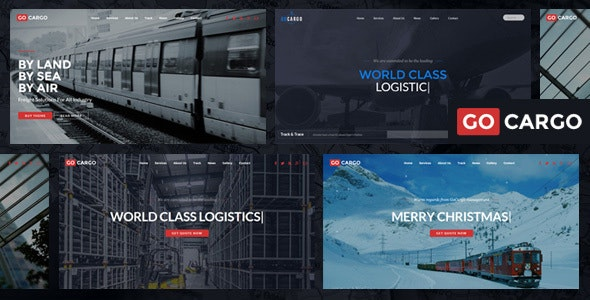 GoCargo v1.9.2 - WordPress theme for freight, logistics and transport companies