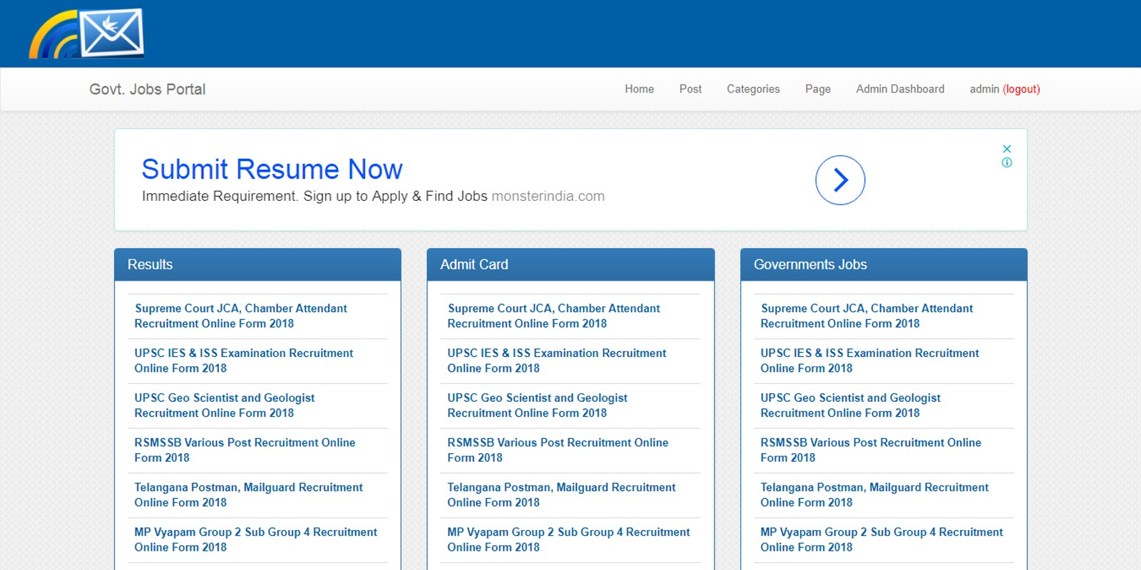 Govt v2.1 - .NET job portal