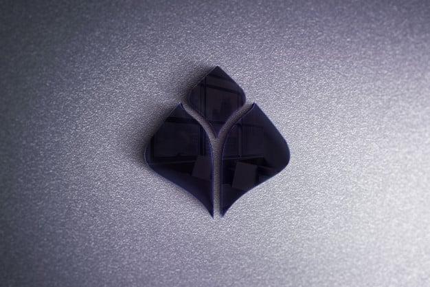 Logo on a white wall realistic mockup Premium Psd