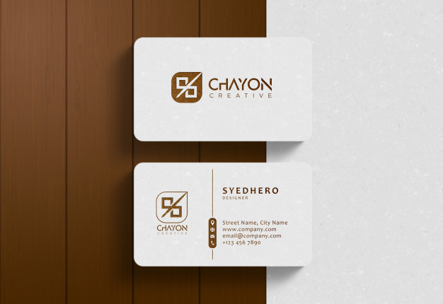 Luxury business card mockup Premium Psd