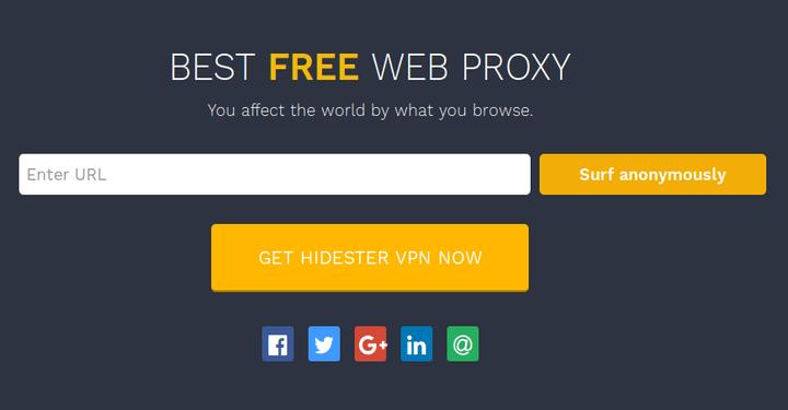 Online Web Proxy - online proxy script