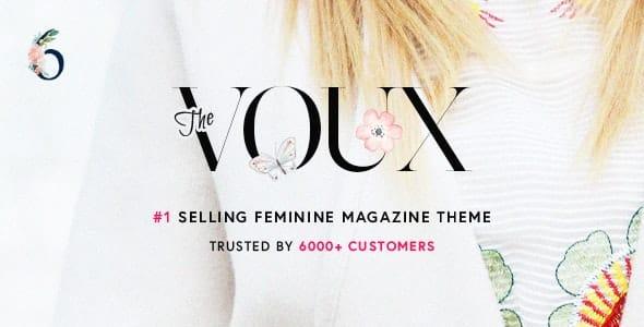 The Voux WordPress News Template