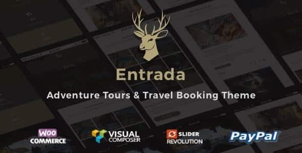Entrada v4.3.7 - WordPress Tour Booking Website Template