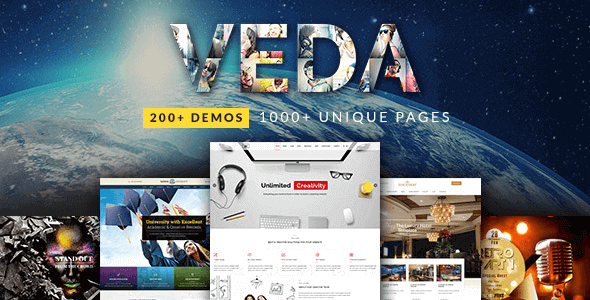 VEDA v3.4 - Multipurpose WordPress Theme