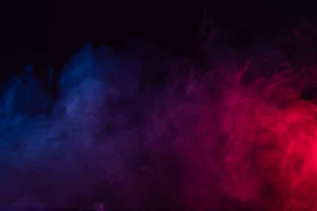 Colour smoke background Premium Photo