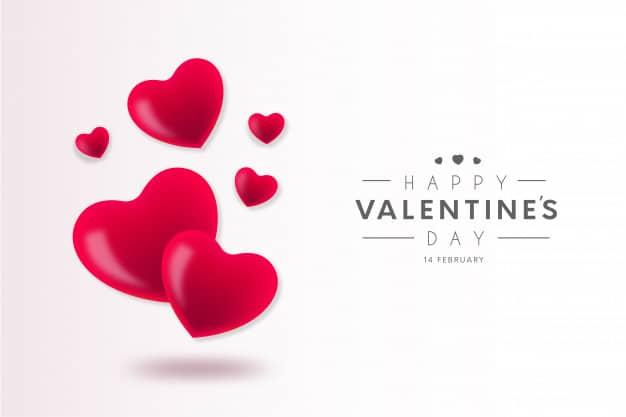 Lovely happy valentine's day background Vector