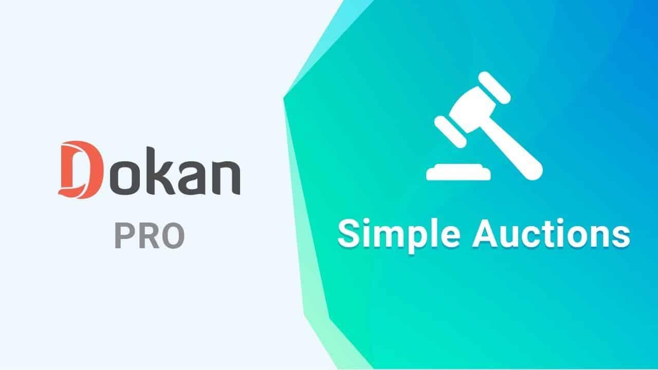 Dokan – Auction Integration
